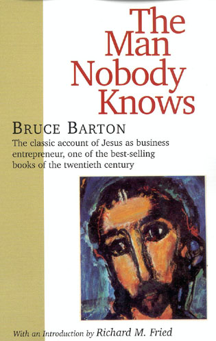 Cover image for the book The Man Nobody Knows