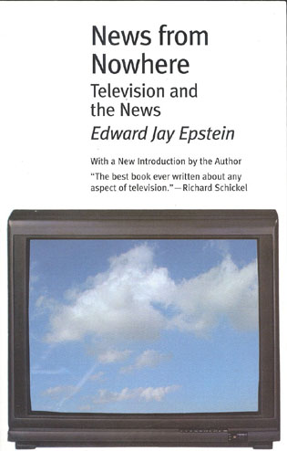 Cover image for the book News from Nowhere: Television and the News