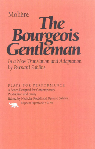 Cover image for the book The Bourgeois Gentleman