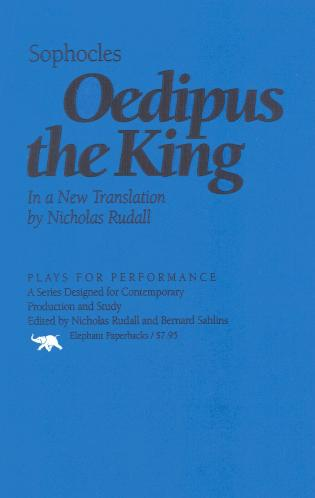 Cover image for the book Oedipus the King