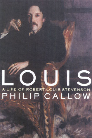 Cover image for the book Louis: A Life of Robert Louis Stevenson