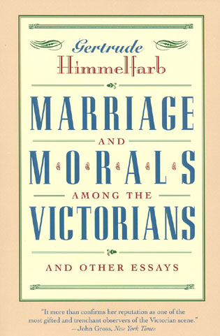 Cover image for the book Marriage and Morals Among the Victorians