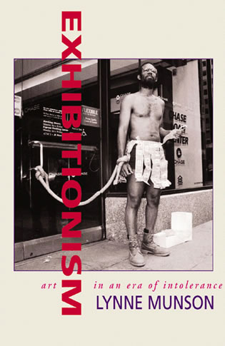Cover image for the book Exhibitionism: Art in an Era of Intolerance