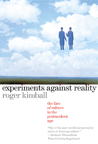 Cover image for the book Experiments Against Reality: The Fate of Culture in the Postmodern Age
