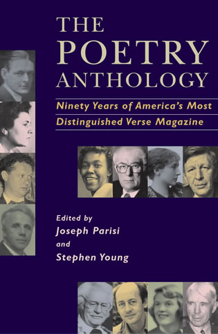 Cover image for the book The Poetry Anthology, 1912-2002: Ninety Years of America's Most Distinguished Verse Magazine