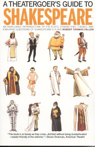 Cover image for the book A Theatergoer's Guide to Shakespeare