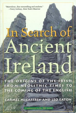 Cover image for the book In Search of Ancient Ireland: The Origins of the Irish from Neolithic Times to the Coming of the English