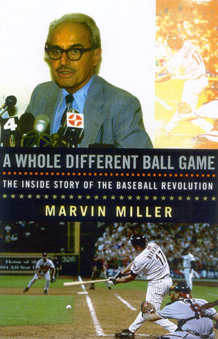 Cover image for the book A Whole Different Ball Game: The Inside Story of the Baseball Revolution