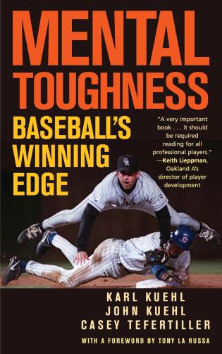 Cover image for the book Mental Toughness: Baseball's Winning Edge