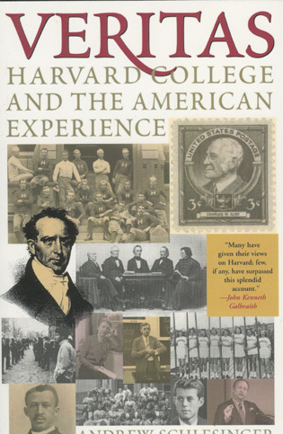 Cover image for the book Veritas: Harvard College and the American Experience