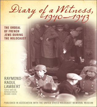 Cover image for the book Diary of a Witness, 1940-1943