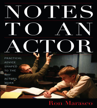Cover image for the book Notes to an Actor