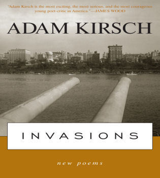 Cover image for the book Invasions: New Poems