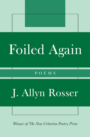 Cover image for the book Foiled Again: Poems