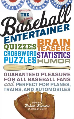 Cover image for the book The Baseball Entertainer