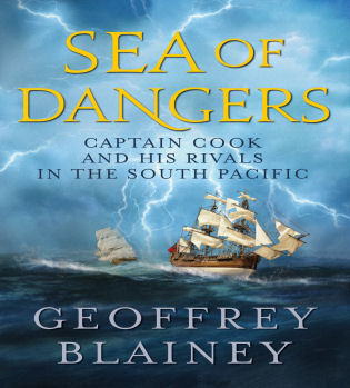 Cover image for the book Sea of Dangers: Captain Cook and His Rivals in the South Pacific