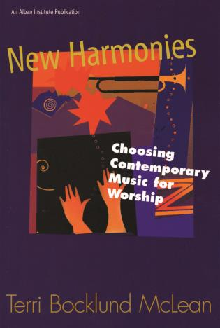 Cover image for the book New Harmonies: Choosing Contemporary Music for Worship