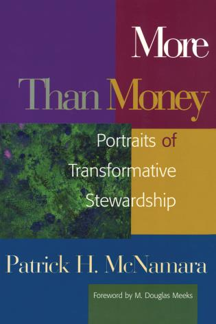 Cover image for the book More Than Money: Portraits of Transformative Stewardship