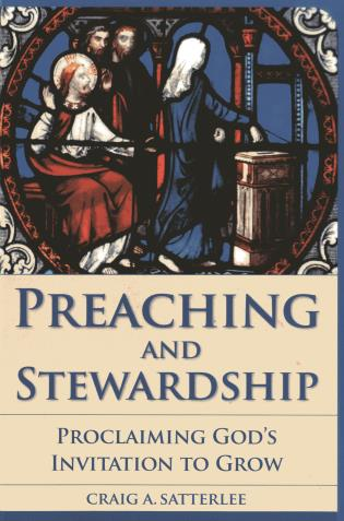 Cover image for the book Preaching and Stewardship: Proclaiming God's Invitation to Grow