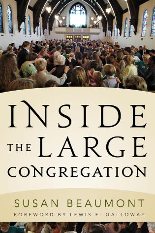 Cover image for the book Inside the Large Congregation