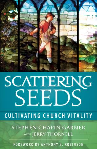 Cover image for the book Scattering Seeds: Cultivating Church Vitality