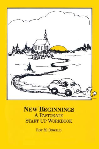 Cover image for the book New Beginnings: A Pastorate Start Up Workbook