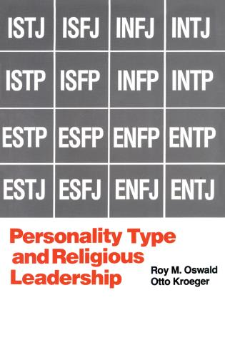 Cover image for the book Personality Type and Religious Leadership