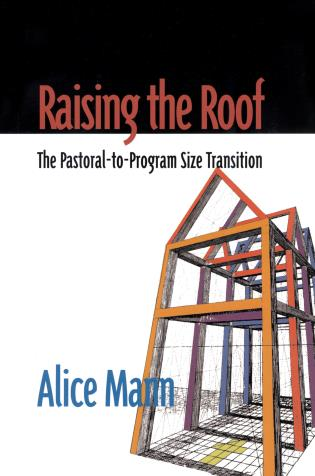 Cover image for the book Raising the Roof: The Pastoral-to-Program Size Transition