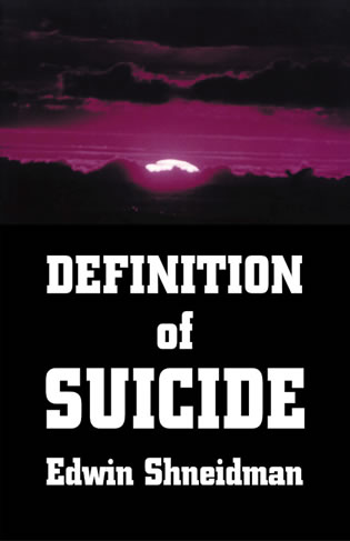 Cover image for the book Definition of Suicide
