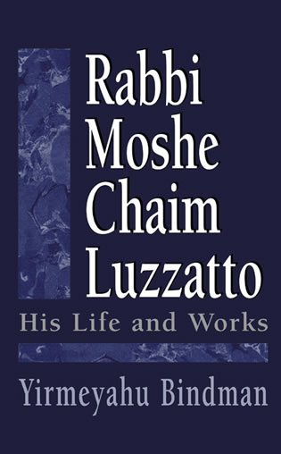 Cover image for the book Rabbi Moshe Chaim Luzzatto: His Life and Works
