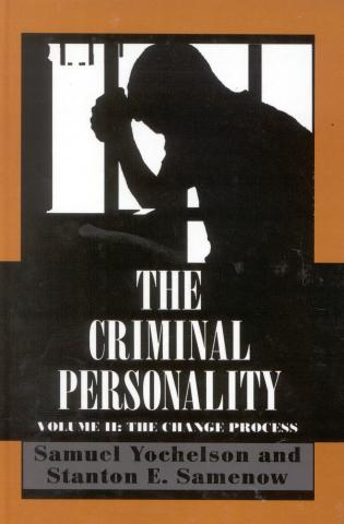 Cover image for the book The Criminal Personality: The Change Process, Volume II