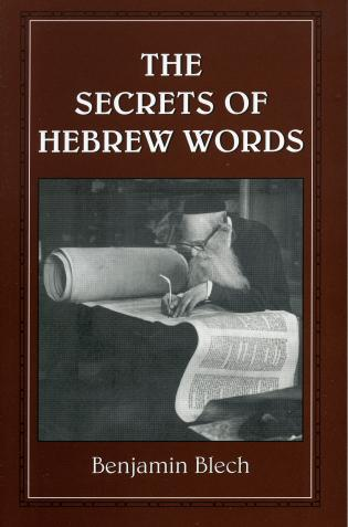 Cover image for the book The Secrets of Hebrew Words