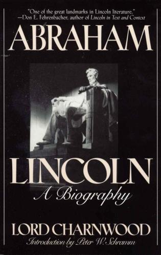 Cover image for the book Abraham Lincoln: A Biography