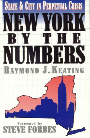 Cover image for the book New York by the Numbers: State and City in Perpetual Crisis