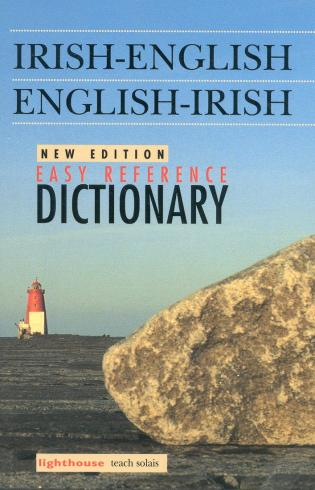 Cover image for the book Irish-English/English-Irish Easy Reference Dictionary, New Edition