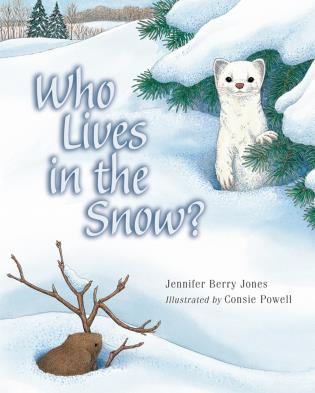 Cover image for the book Who Lives in the Snow?