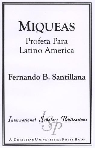 Cover image for the book Miqueas: Profeta Para Latino America