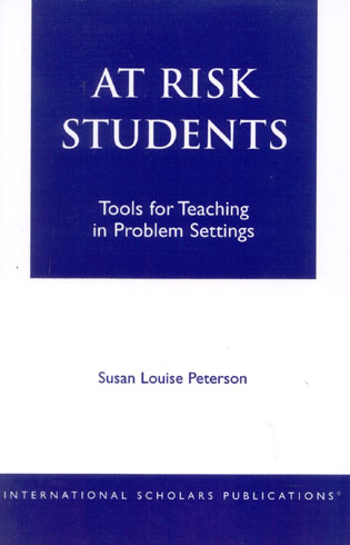 Cover image for the book At - Risk Students: Tools for Teaching in Problem Settings