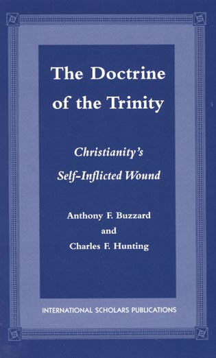 Cover image for the book The Doctrine of the Trinity: Christianity's Self-Inflicted Wound
