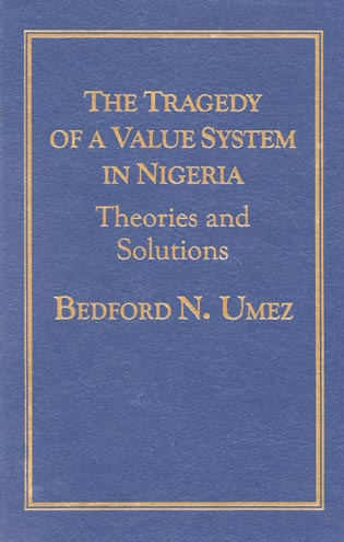 Cover image for the book Tragedy of a Value System in Nigeria