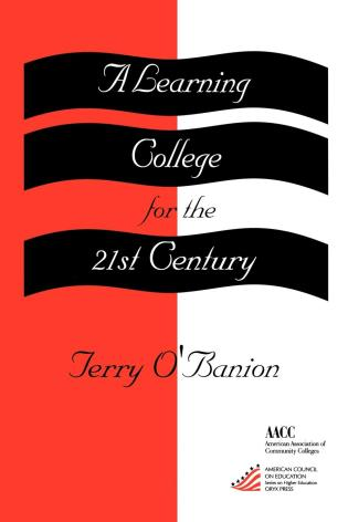 Cover image for the book A Learning College for the 21st Century