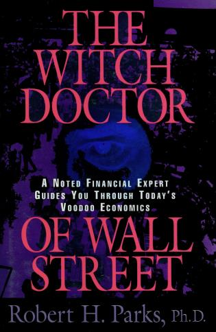 Cover image for the book The Witch Doctor of Wall Street