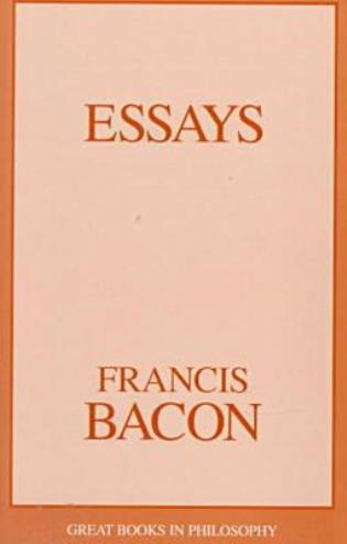 Cover image for the book Essays
