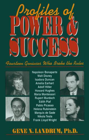 Cover image for the book Profiles of Power and Success