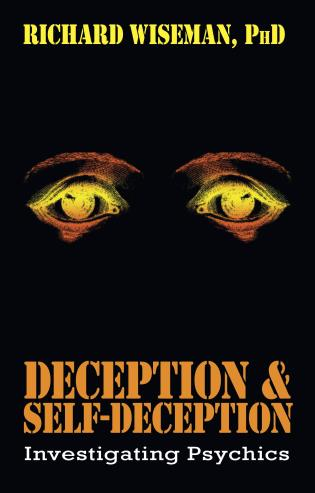 Cover image for the book Deception & Self-Deception: Investigating Psychics