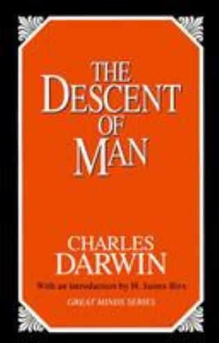 Cover image for the book The Descent of Man