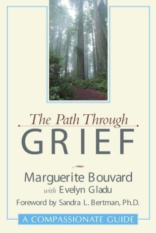 Cover image for the book The Path Through Grief: A Compassionate Guide