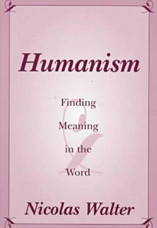 Cover image for the book Humanism: Finding Meaning in the Word