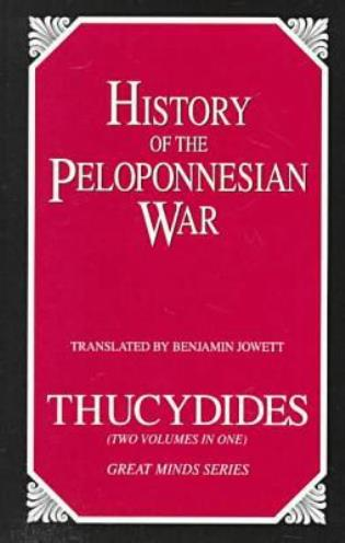 Cover image for the book History of the Peloponnesian War