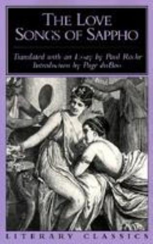 Cover image for the book The Love Songs of Sappho